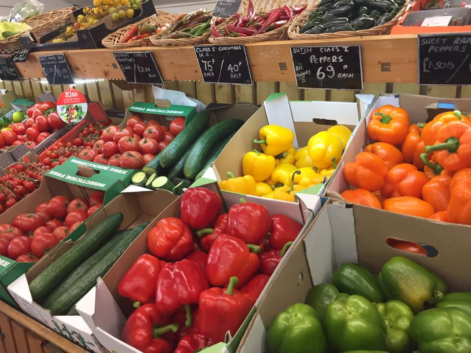 Vegetables without Single-Use Plastic