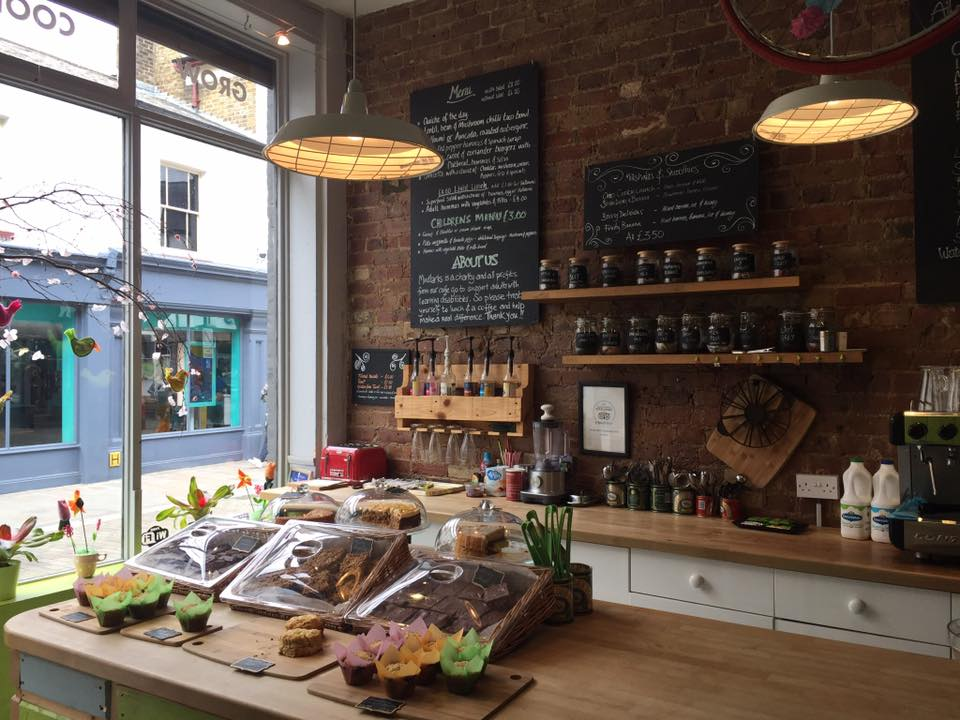 Mudlarks Garden Cafe in Hertford