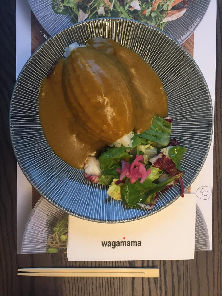 Vegatsu Curry at Wagamama UK