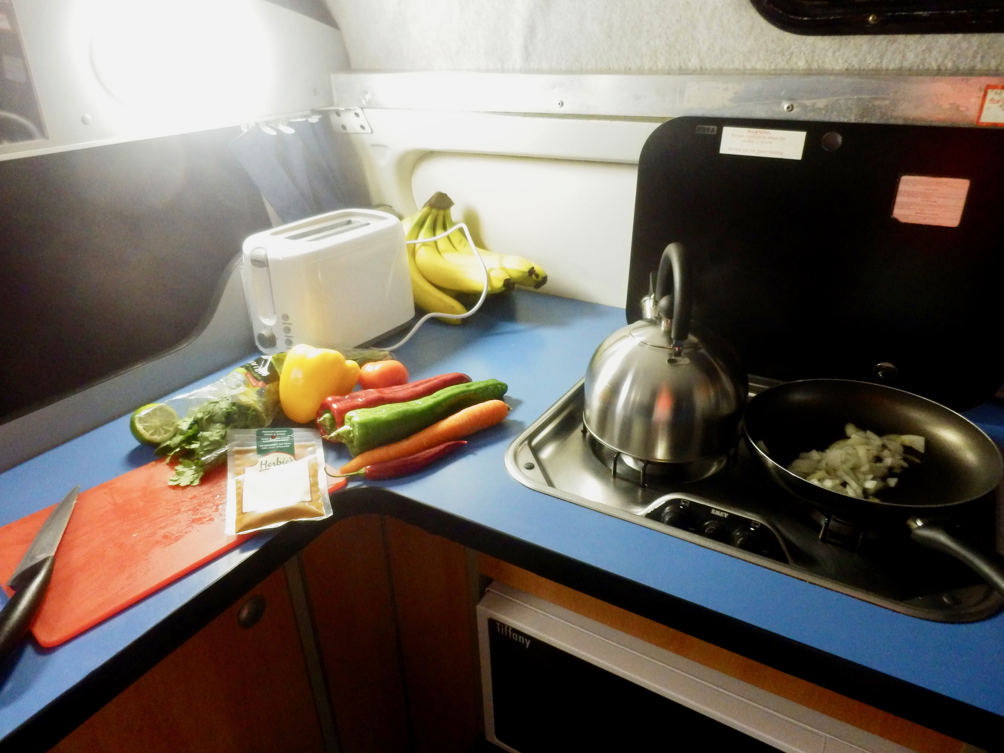 Vegan Campervan Meals with The Natural Essex Girl