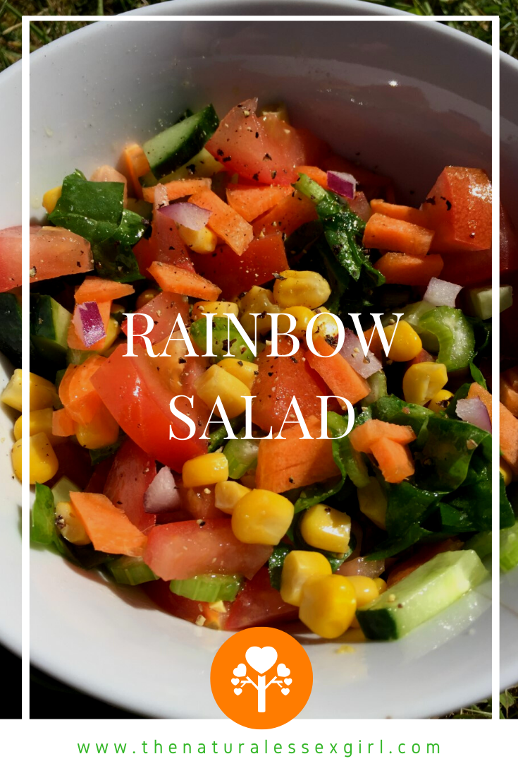 Vegan Rainbow Salad Recipe