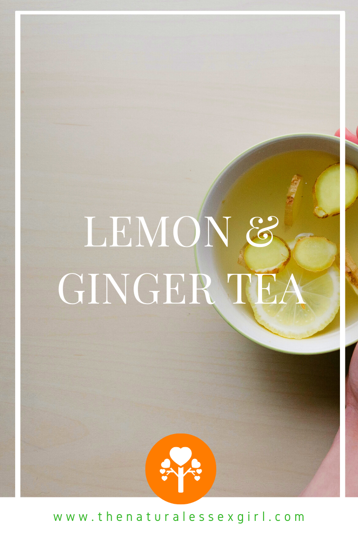 Lemon & Ginger Tea by The Natural Essex Girl