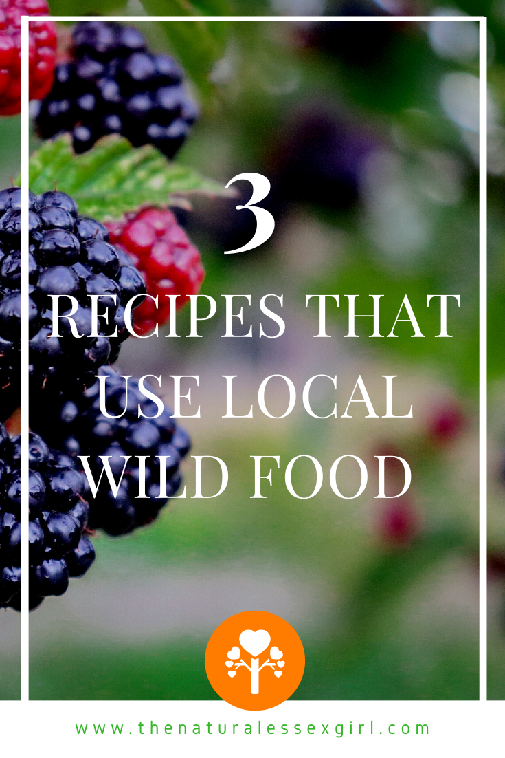 3 Recipes that use Local Wild Food